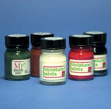 Small Jars of Acryllic Paint