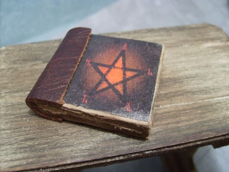 book - Red pentacle
