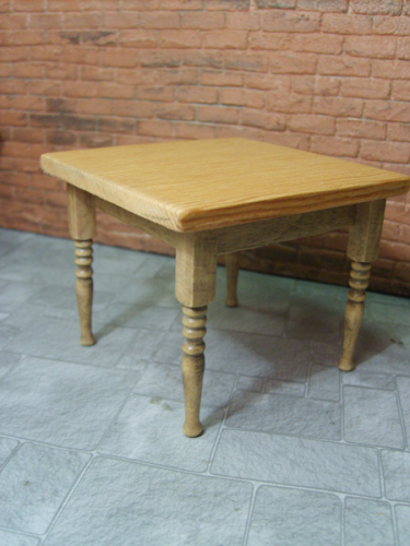 Kitchen Table Antique Pine effect Legs