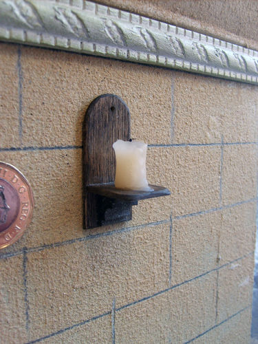 Candle Wall Sconce 2 (non working)