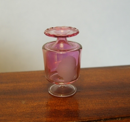 Cranberry William IV Vase