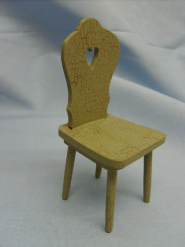 Chair - Crackle effect green