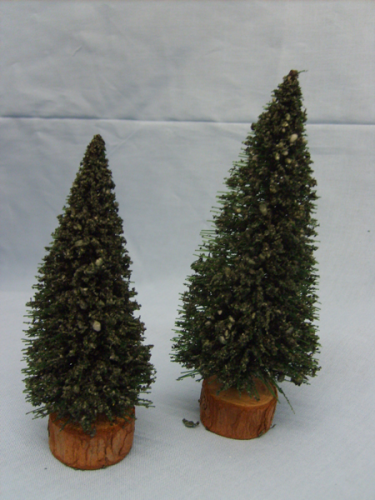Evergreen Trees Pack of Two