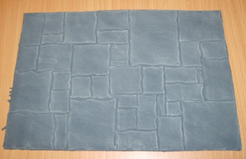 Slate Flag Effect Flooring Card