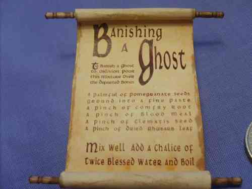 Spell Scroll 3 - Banishing a Ghost