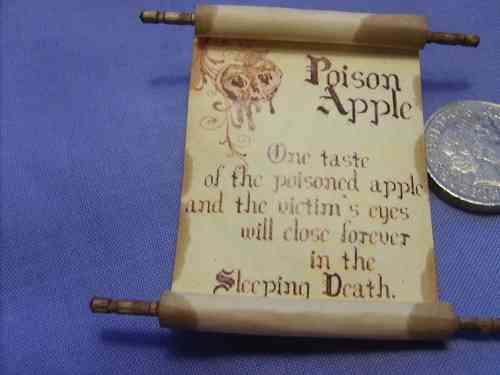 Spell Scroll 13 - Poison Apple