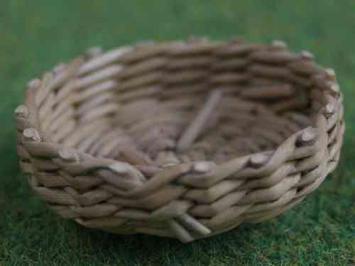 Shallow Round basket - large