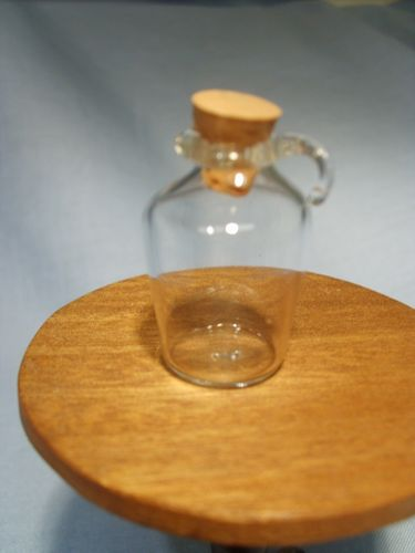 Glass Flagon with Cork