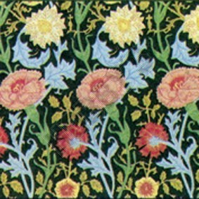 William Morris Pink & Rose