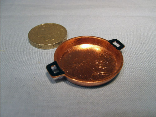 Flat Copper Pan - large