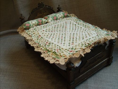 Handcrafted Double Bed with Cover