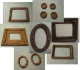 Frames for Pictures and Mirrors