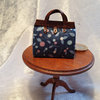 Carpet Bag with Leather Trim 1