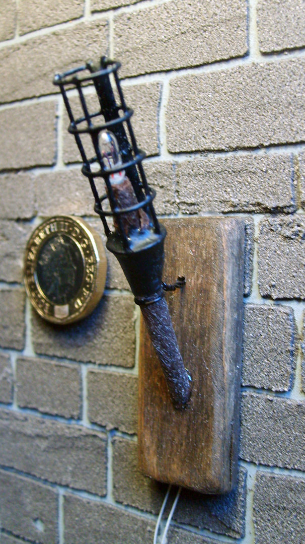 Medieval Wall Torch Working The Miniature Scene