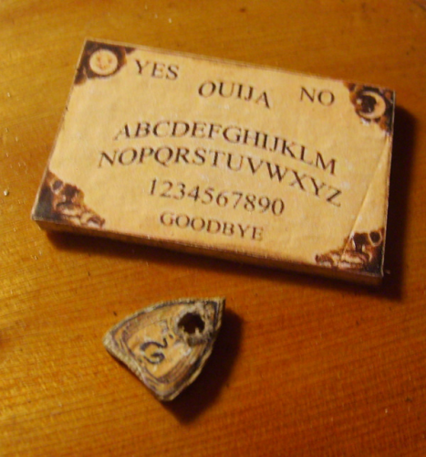 Ouija Board and Planchette 2