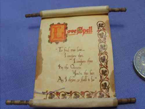 Spell Scroll 11 - Love Spell