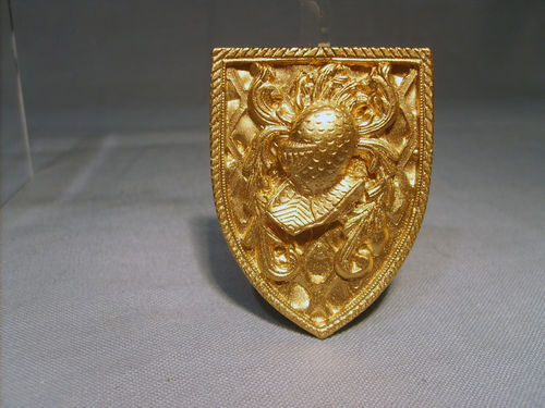 Heraldic Shield - Gold effect