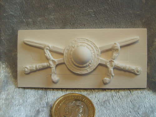 Decorative Plasterwork - Swords