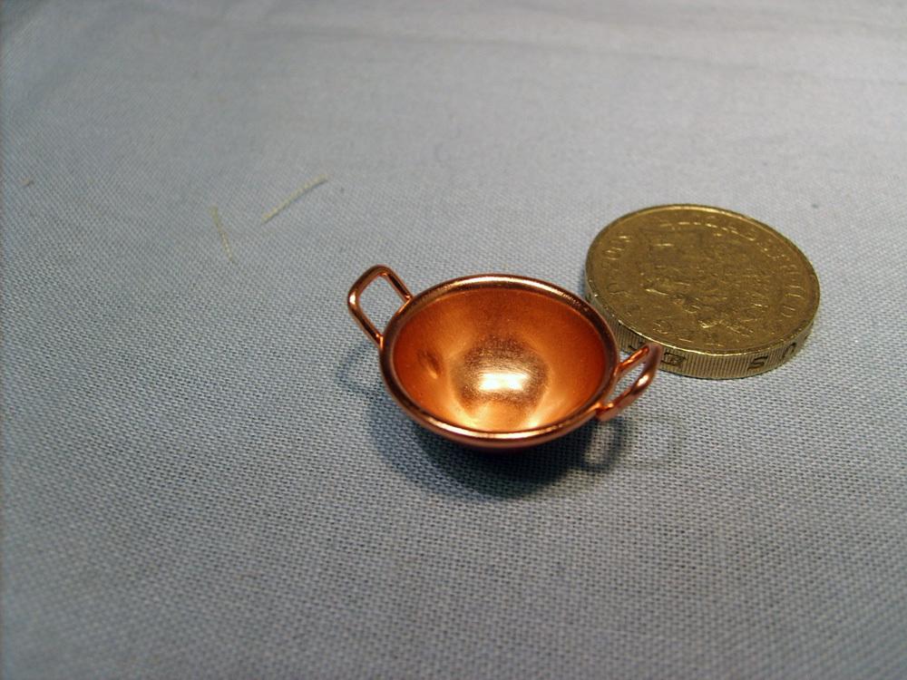 Round Bottom Copper Pan Um