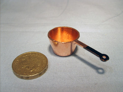 Copper Saucepan - medium