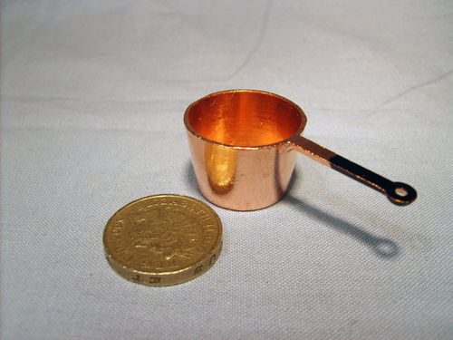 Copper Saucepan - large
