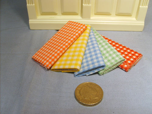 5 x Bolts of Fabric - gingham