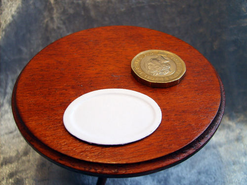 Card Plate - oval
