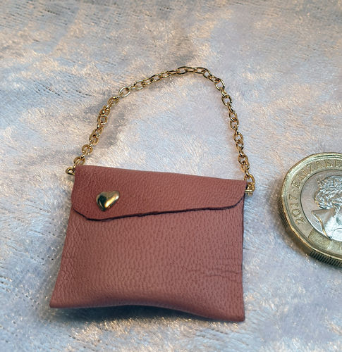 Leather Shoulder Bag  4