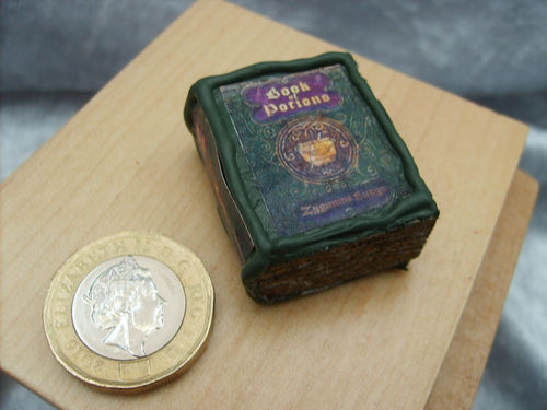 Non opening Book of Potions