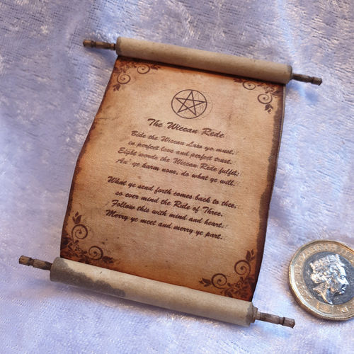 Spell Scroll 32 - The Wiccan Rede