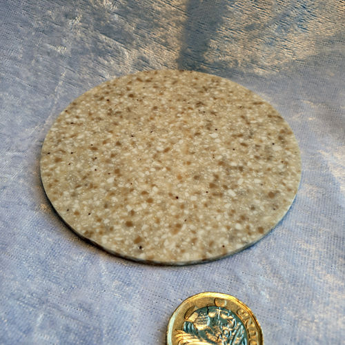 Decrastone Circular - large yellow