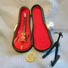 Red Gibson Electric Guitar dl
