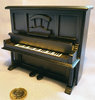 Upright Piano - black